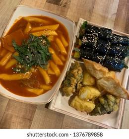 tteokbokki korean food