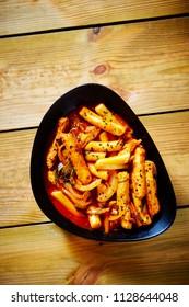 Tteokbokki, Korean spicy rice cake