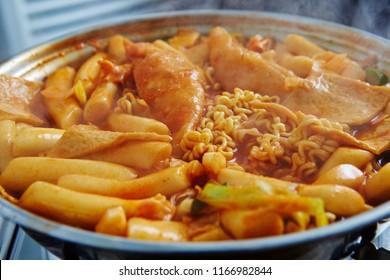 Tteokbokki with noodle