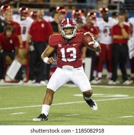 Tua Tagovailoa-Alabama Football Campingworld Kickoff September 1st, 2018 in Orlando Florida -USA Alabama Crimson Tide Vs. Louisville Cardinals