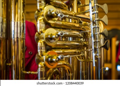 Tuba with a key view
