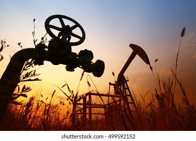 Tube and valve, oil industry equipment