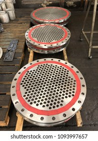 Tubesheet Shell And Tube Heat Exchanger Pressure Vessel Fabrication