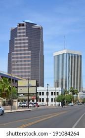 TUCSON ARIZONA APRIL 24: Tucson is a city in and the county seat of Pima County, Arizona, United States and home to the University of Arizona. On april 24 2014 in Tucson Arizona USA