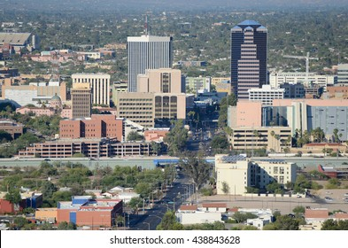 Tucson Arizona City Skyline