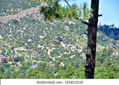 Tucson, Arizona / USA: Circa September 2019 Mount Lemmon and the town of Summerhaven are at an altitude of 7,700 feet which makes it about 30 degrees cooler than Tucson.