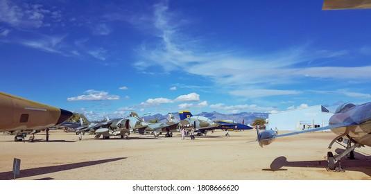 Tucson, Arizona/USA - January 14 2019: Pima Air Museum