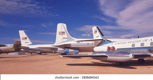 Tucson, Arizona/USA - January 14 2019: Pima Air and Space Museum