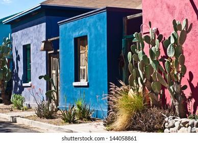 Tucson Old Barrio Historic Adobe House