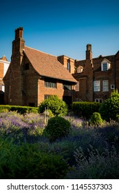 Tudor mansion in grounds of park in Ipswich Suffolk