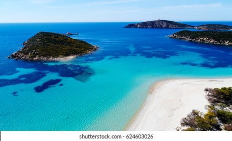 Tuerredda, Teulada, Sardinia, Italy