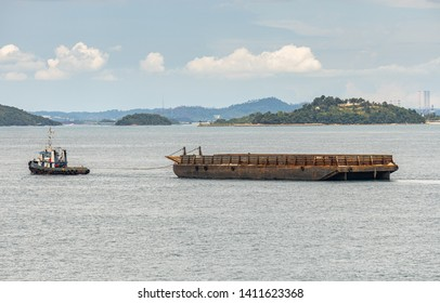 Small Barge Images, Stock Photos & Vectors   Shutterstock