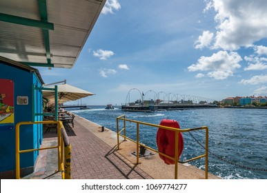 Tug Boat views around the small Caribbean island of Curacao