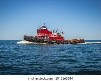Tugboat on Bay