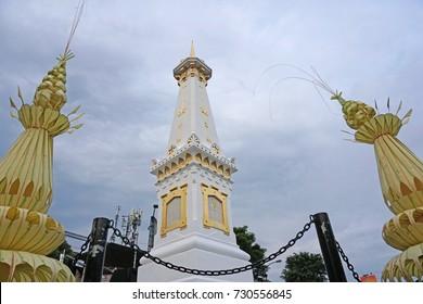 Tugu Pal Putih Jogja and Janur Kuning