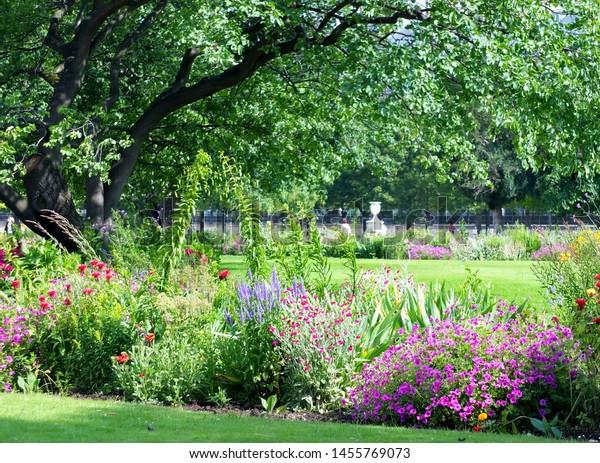 The Tuileries Garden is a public garden of Paris, France.