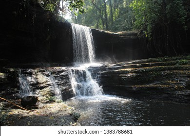Tuirihiau waterfalls in Thenzawl, Mizoram