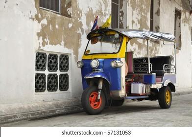 Tuk Tuk Thailand Car Scooter