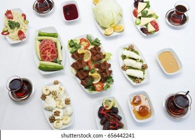 Tukish Ramadan Breakfast Sahur Meals