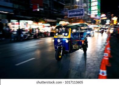 TukTuk in Chinatown Bangkok