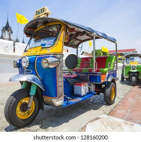 Tuk-Tuk  vehicle urban in Bangkok