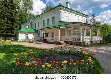 Tula region, Russia. Yasnaya Polyana is a writer's house museum, the former home of the writer Leo Tolstoy. Tolstoy was born in the house, where he wrote both War and Peace
