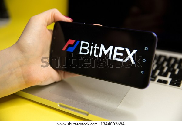Tula, Russia - JANUARY 29, 2019: BitMEX logo