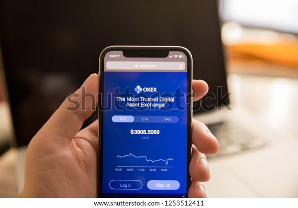 Tula Russia November 28 2018 Okex Stock Photo (Edit Now