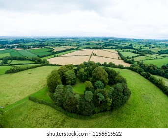 "Tullyhogue Fort - Co Tyrone, Northern Ireland meaning ""hill of youth"". It is an ancient cermonial site where the cheiftains fo the O'Neill dynsasty of Tyrone were inaugurated."