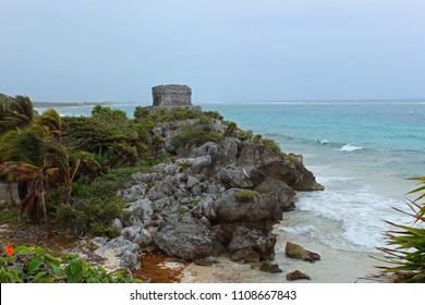 Tulum in the beach