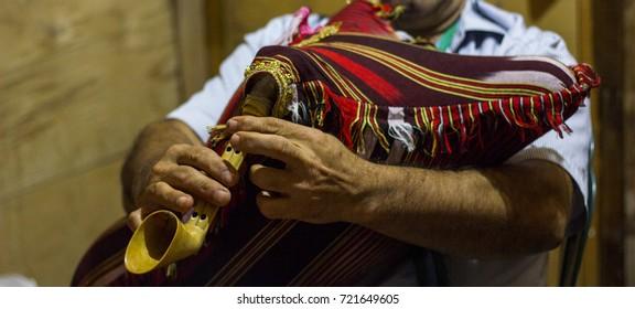 Music Instrument Bag Images, Stock Photos & Vectors