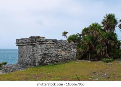 Tulum mayan beach
