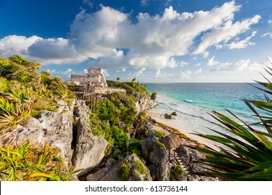 Tulum, Mexico. Wind God temple.