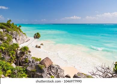 Tulum, Riviera Maya in Mexico.