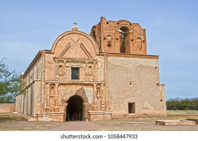 Tumacacor National Historical Park houses three different sites, including this one:  the Mission San Jose de Tumacacori, which was built in the 1750's.