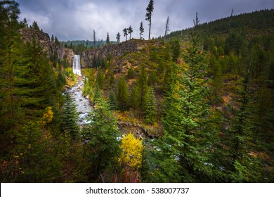 Tumalo Falls Deschutes National Forest near Bend Oregon
