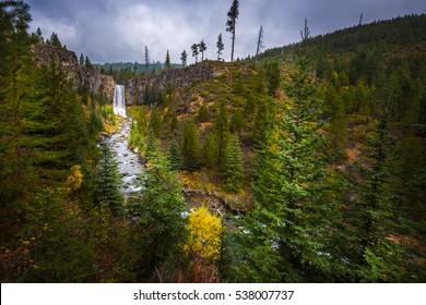 Tumalo Falls Deschutes National Forest near Bend Oregon