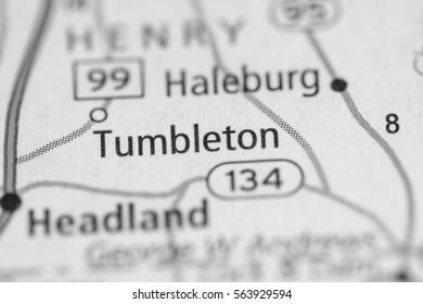 Tumbleton. Alabama. USA