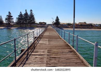 Tumby Bay/Australia- 2020: Pier in Tumby Bay, South Australia