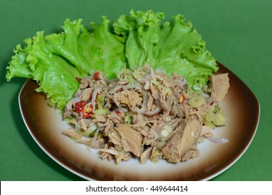 Tuna hot & spicy salad
