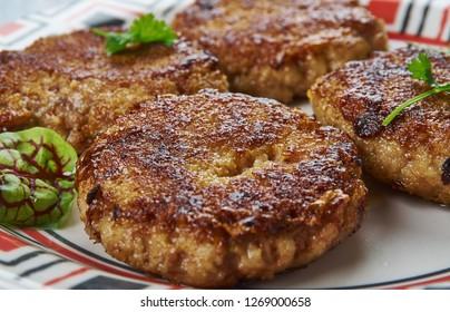 Tunday Ke Kebabs -  Buffalo meat galouti kebab, Awadhi cuisine