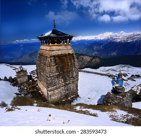Tungnath is the temple of Lord Shiva in Himalaya, is located just below the peak of Chandrashila on a mountain ridge Tungnath in the state of Uttarakhand, India.