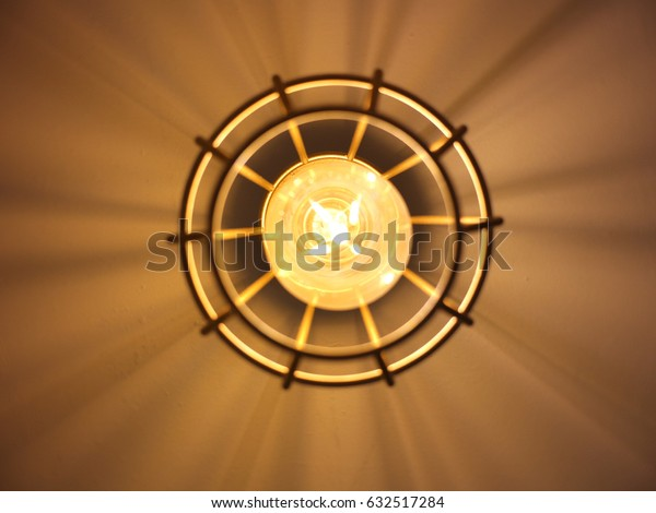 Tungsten light lamp.
