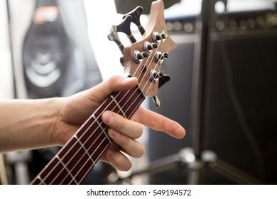 Tuning a gitar