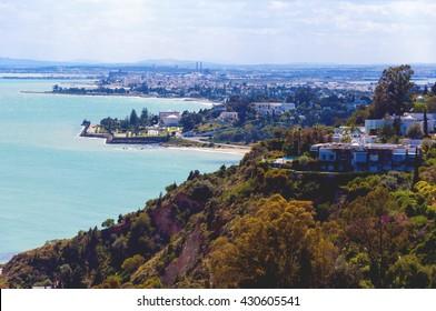 Tunis coast