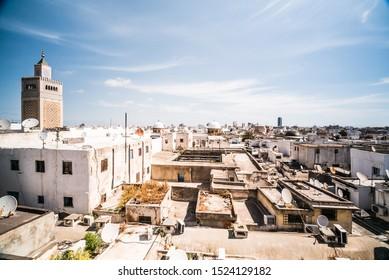 Tunis Medina Old City Landscape