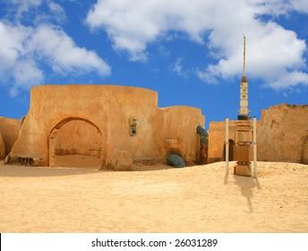 "tunisia, decoration, scenery - films ""Star Wars"" I"