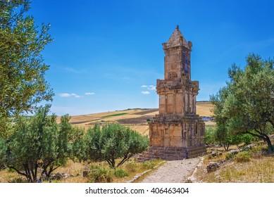 Tunisia, Dougga, Lybico-Punic Mausoleum