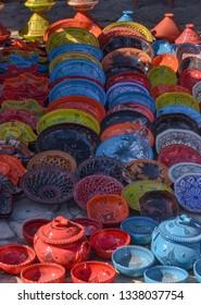 Tunisia suss arabic traditional art arbic - Shutterstock ID 1338037754