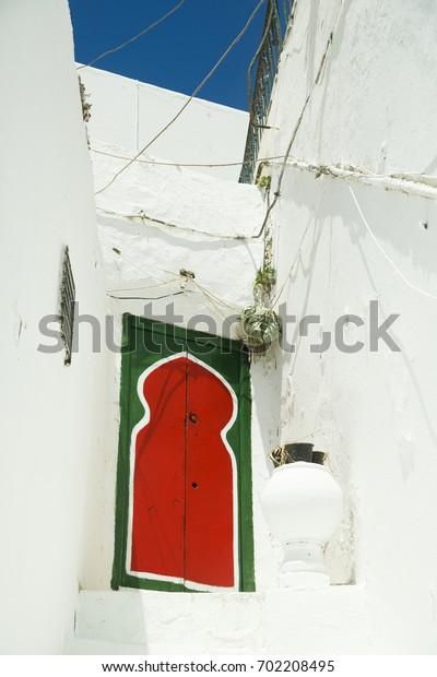 Tunisian door, Sidi Bou Said